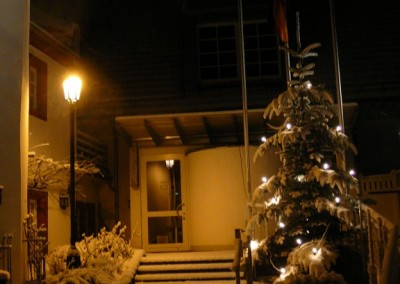 Wein- und Kulturzentrum im Winter