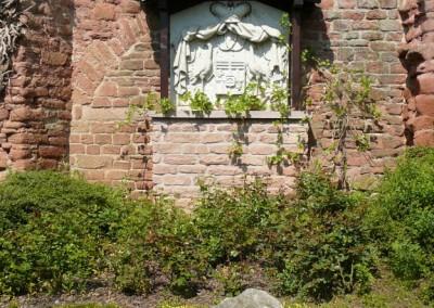 Fürstenwappen Stephanskapellenweg