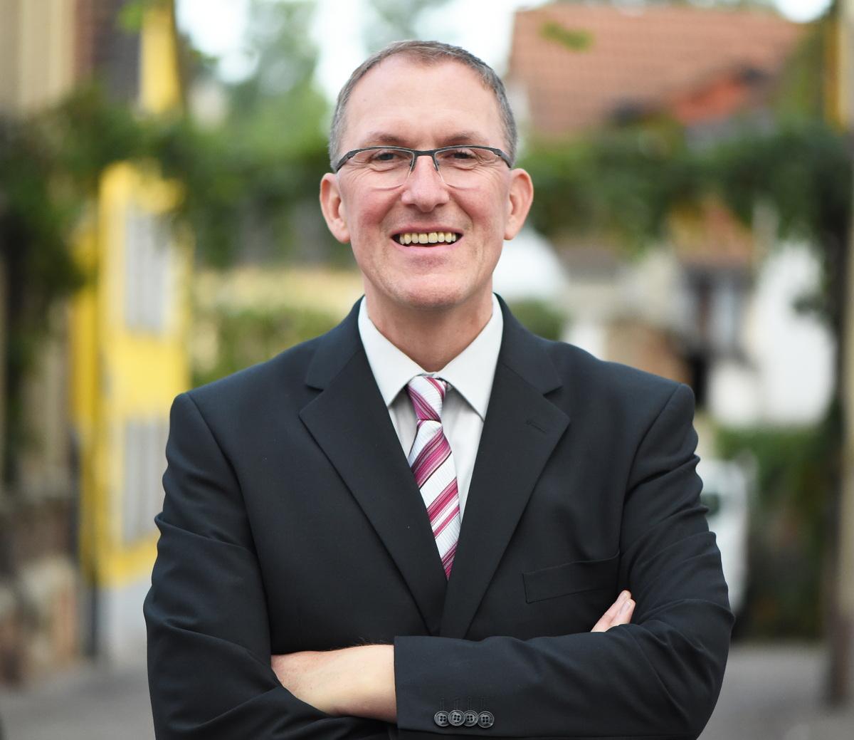 Ortsbürgermeister Olaf Budde